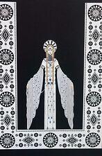Erte 1987 BYZANTINE EMPIRE Eastern Orthodox Church Wall Art Deco Matted Print