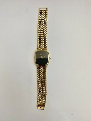Un Muy Fino & Raro Vintage Piaget 18K Oro Amarillo Suizo Reloj