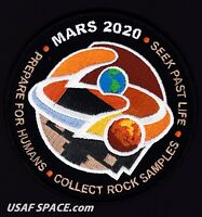 NEW NASA JPL - MARS 2020 ROVER - Exploration Program ORIGINAL Mission PATCH