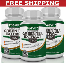 3 x Green Tea Extract - Weight Loss Fat Burning Pills - 180 Capsules - 780mg