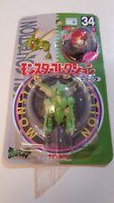 ORIGINAL JAPANESE RELEASE POKEMON 1998 TOMY Scyther #34 VERY RARE N MINT PACKAGE