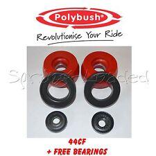 Polybush Strut Top Mounts -10mm for SKODA OCTAVIA Estate 1U5 2.0 4x4 01/00-12/10