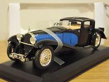 ATLAS Editions BUGATTI ROYALE 1930 Black & Blue auto modello 1:43 DT15