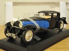 ATLAS EDITIONS BUGATTI ROYALE 1930 BLACK & BLUE CAR MODEL 1:43 DT15