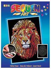 Sequin Art Blue Lion  1207