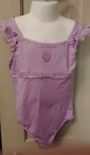 Girls 7/8 Lavender Cinderella Gymnastic Dance Leotard