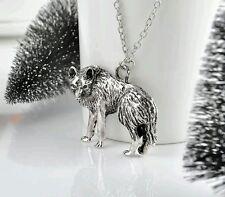 Wolf Werewolf Necklace Pendant Charm Talisman Amulet Jewelry Gift Present