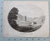 1793 Datato Antico Stampa Cromwell Park