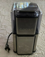 Cuisinart Coffee Grinder Brushed Stainless DCG-12BC Coffee Beans Nuts Spices