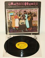 GRANDMOTHERS Mothers of Invention Unreleased Recordings 1980 USA LP frank zappa