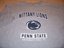 NCAA PENN STATE SHORT SLEEVE GRAY T-SHIRT MENS 3XLBIG EXCELLENT CONDITION