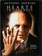 HEARTS IN ATLANTIS The MOVIE a DVD of PSYCHIC with ANTHONY HOPKINS Anton Yelchin
