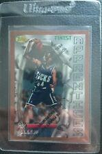 1996 TOPPS FINEST #22 RAY ALLEN ROOKIE CARD MILWAUKEE BUCKS BOSTON CELTICS MINT