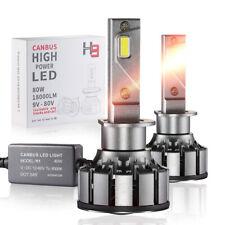 2PCS H1 Canbus LED Headlight Bulbs 18000LM Car Truck High Power Conversion Kit