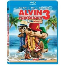 Alvin & and The Chipmunks: Chipwrecked (Blu-Ray, DVD) NEW