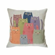 Cat Cartoon Decorative Cushion Covers