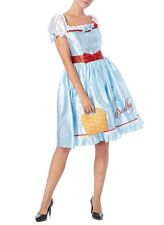Wizard of Oz Dorothy Fancy Dress Costume/dressing up Outfit Ladies UK 8-10