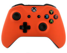 """Soft Touch Orange"" Xbox One S Custom Un-Modded Wireless Microsoft Controller"