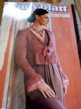 ANNY BLATT French DESIGNER Knitting Magazine  #200 + BONUS English Instructions