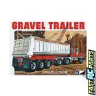 MPC ~ general hobby plastic models 1/25 3 Axle Gravel Trailer MPC823