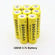 2-10pcs 9900mAh 3 7V Liion  Rechargeable For Power Bank Led Flashlight New 2020