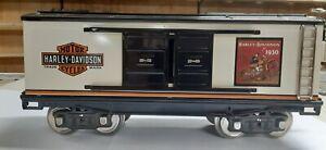 MTH 10-2089 Lionel Corp. Tinplate Standard Gauge 214 HARLEY DAVIDSON Box Car