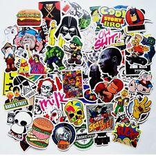 50Stk Aufkleber im Set Stickerbomb Tuning Aufkleber Autoaufkleber Style Embleme