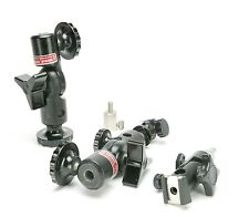 Norman Flash Brackets & Adapters For Umbrellas, Strobes & Cameras. Morris Slave.