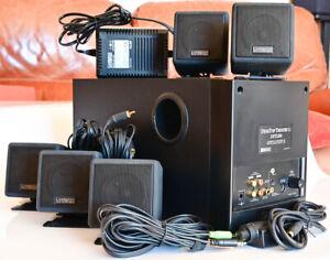 Cambridge Soundworks DeskTop Theatre 5.1 DTT2200 Amp Creative Audio Speaker