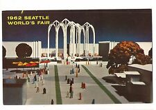Art SEATTLE WORLD'S FAIR Century 21 Expo Science Pavilion WASHINGTON Postcard WA