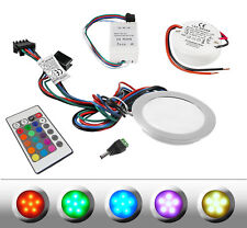 LED Spot encastré ENCASTRABLE enacastrables au plancher Portia RGB 9 en jeu +