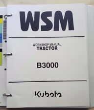 2011 KUBOTA B3000 TRACTOR SERVICE WORKSHOP REPAIR MANUAL