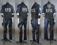 Resident Evil 2 Remake Leon Scott Kennedy's RPD Cosplay Costume Any Size