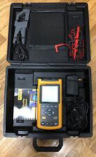 Fluke 43 Power Quality Analyzer Meter Fluke Case Amp Accessories