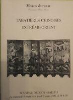 1981 Catálogo De Venta Demuestra Drouot Cajas de Tabaco China Extreme Orient