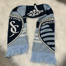 Sporting KC Kansas City MLS Adidas Team Colors Acrylic Knit Scarf