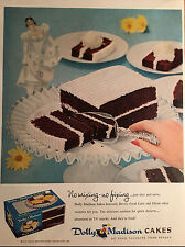 1956 Vintage ad for Dolly Madison Cakes  Photo  desserts (102816)