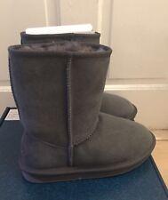 Emu Australia Stinger Lo Water Resistant Sheepskin Boots Size UK 3/EU 36