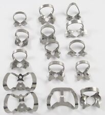 40 Pcs. Endodontic Rubber Dam Clamps of your choice Dentist Instrument Free Ship