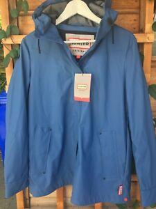 New Hunter Waterproof Blue Jacket ,Size Small