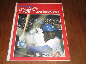 1974 LOS ANGELES DODGERS BASEBALL YEARBOOK
