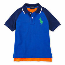 RALPH LAUREN Cotton Baseball Polo Shirt for Boys - New Arrival 2016