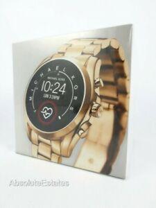 NEW Michael Kors Access Gen 5 Bradshaw Smartwatch  Gold MKT5085 NIB SEALED