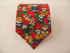 ST.GEORGE MILANO SILK TIE SETA CRAVATTA MADE IN ITALY  A5197