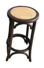 Classic French Design Natural American Oak Timber Walnut Bar Stool 75cm - 2x Pcs
