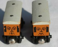 ANNIE and CLARABEL Lot Thomas The Train Wood Engine Tank Wooden Railway Toys