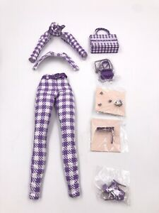 Fashion Royalty Integrity Toys NU.Face Fit to Print Nadja Doll Outfit Completed