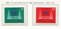 19089) UNITED NATIONS (New York) 1969 MNH** Peace