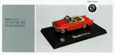 Škoda Collection Merchandise PROSPEKT 5 09 UA MODELLO DI AUTO SKODA 1000 MB automobili 2009