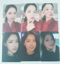 """MONTHLY GIRL LOONA Olivia Hye 6 Photocard SET - Official MD Showcaseof LOONA """"#"""""""